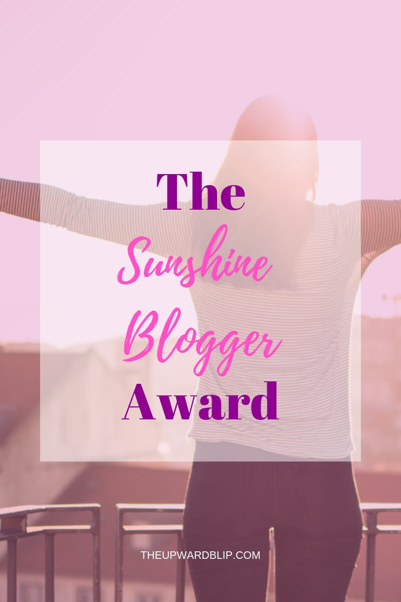 Sunshine Blogger Award for The Mom Blogger