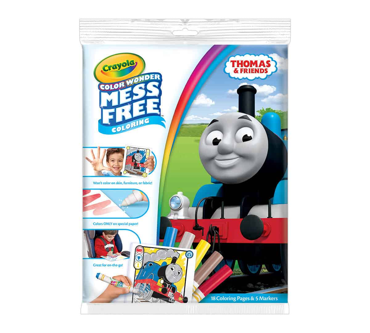 Color Wonder Mess Free Coloring Pad & Markers, Thomas and Friends